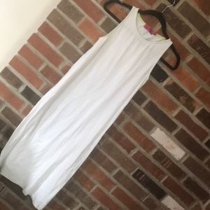 White stretchy vacation dress!